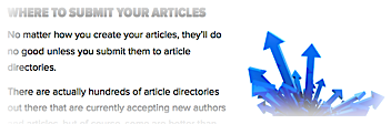 Where to Submit Your Articles